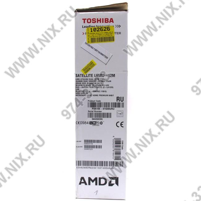 Сетевой Драйвер Toshiba Satellite L650d 12M