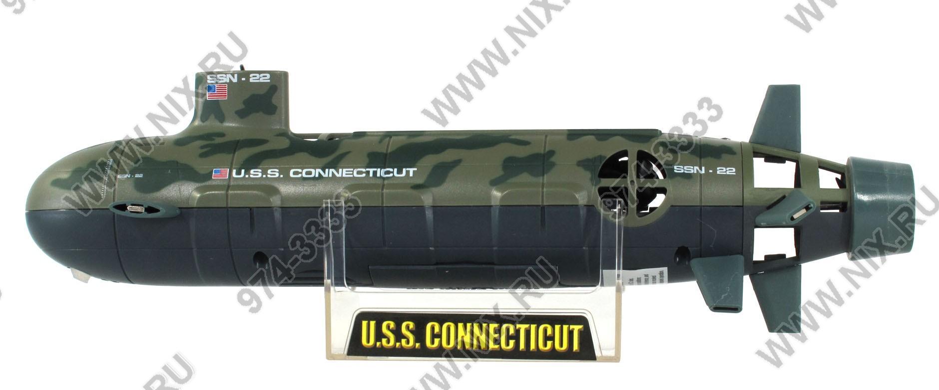 модель атомной подводной лодки u.s.s. seawolf