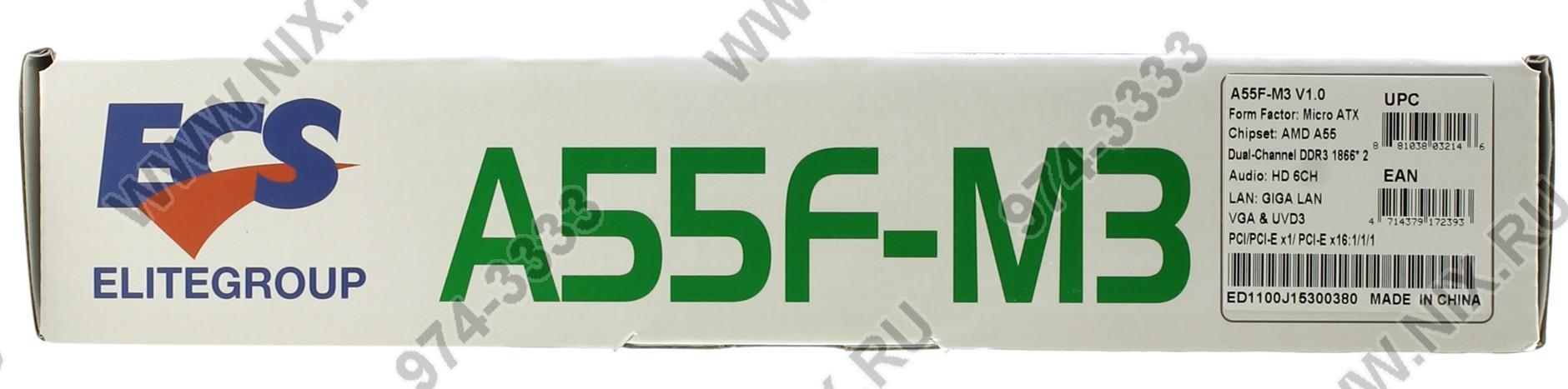Chipset: amd a55