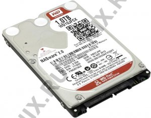 "HDD 1 Tb SATA 6Gb / s Western Digital Red < WD10JFCX > 2.5"" 16Mb"