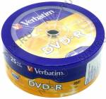 DVD-R Disc Verbatim   4.7Gb  16x  <уп. 25 шт> <43730>