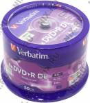 DVD+R Disc Verbatim   8.5Gb  8x  <уп. 50 шт> Double Layer, на шпинделе <43758>