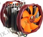 Thermalright SilverArrow IB-E Extreme(4пин,775/1155/1366/2011/AM2/AM3/FM1,21-45 дБ,600-2500 об/мин,Cu+Al+теп.тр)