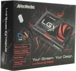 AVerMedia < GC550 > Live Gamer Extreme (USB3.0, Component-In, HDMIIn / Out, 2xAudio In, H.264 Encoder)