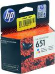 Картридж hp C2P11AE BHK (№651) Color для hp DeskJet Adv.5575 / 5645