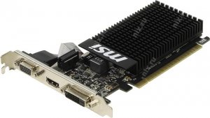1Gb < PCI - E > DDR - 3 MSI V809 GT710 1GD3H LP (RTL) D - Sub+DVI+HDMI < GeForce GT710 >