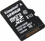 Kingston < SDCS / 128GBSP > microSDXC Memory Card 128Gb UHS-I U1