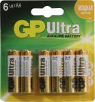 GP Ultra 15AU4 / 2-2CR6 (LR6) Size AA, щелочной (alkaline) < уп. 6 шт >