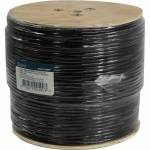 <NEW>   Кабель  5bites  Express  US5525-305BPE  UTP/SOLID/5E/24AWG/COPPER/PVC+PE/BLACK/OUTDOOR/DRUM/305M