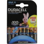 "Duracell ULTRA POWER MX2400-8 (LR03) Size""AAA"", 1.5V, щелочной (alkaline)  <уп.  8 шт>"
