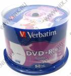 DVD+R Disc Verbatim   4.7Gb  16x   <уп. 50 шт.>  на шпинделе,  printable  <43512/43651>