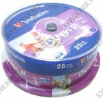 DVD+R Disc Verbatim   4.7Gb  16x   <уп. 25 шт.>  на шпинделе,  printable  <43539>