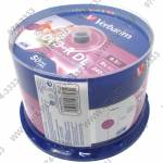 DVD+R Disc Verbatim   8.5Gb  8x   <уп. 50 шт>  Double Layer,  на шпинделе,  printable  <43703>