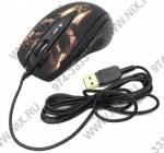 A4-Tech Game Laser Mouse  <XL-750BH-Black-Brown>  (3600dpi) (RTL)USB  7btn+Roll
