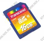 Transcend  <TS16GSDHC10>  SecureDigital High Capacity (SDHC) Memory Card 16Gb Class10