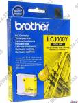Картридж Brother LC1000Y  Yellow  для DCP-130C/330C/540CN/750CW MFC-240C/440CN/660CN/3360C/5460CN/5860CN